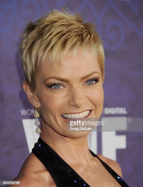 Actress Jaime Pressly arrives at the Variety And Women In Film Annual PreEmmy Celebration at Gracias Madre on August 23 2014 in West Hollywood...