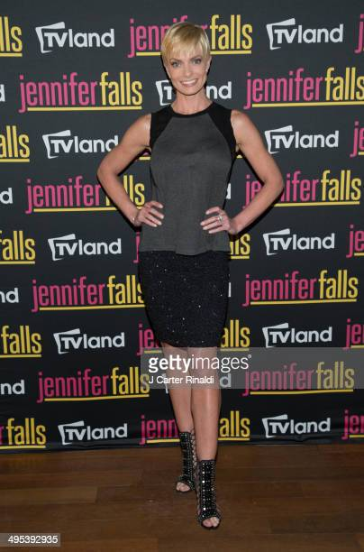 Actress Jaime Pressly attends 'Jennifer Falls' series premiere on June 2 2014 in New York City