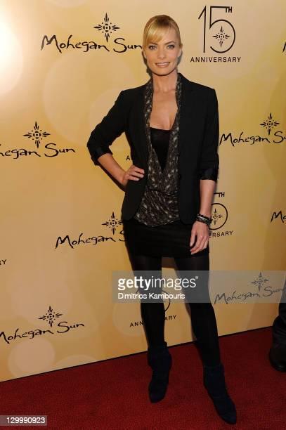 Actress Jaime Pressly attends Mohegan Sun's 15th Anniversary Celebration at Mohegan Sun on October 22, 2011 in Uncasville, Connecticut.