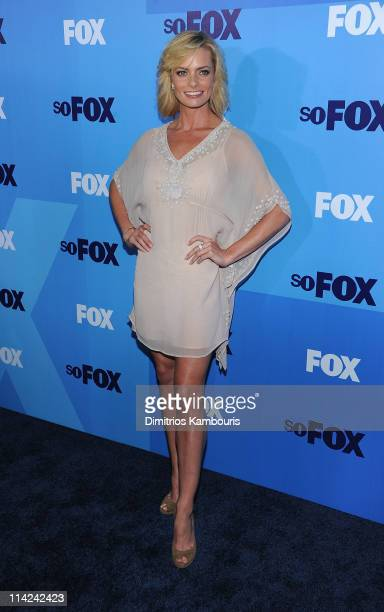 Actress Jaime Pressly attends the 2011 Fox Upfront at Wollman Rink Central Park on May 16 2011 in New York City