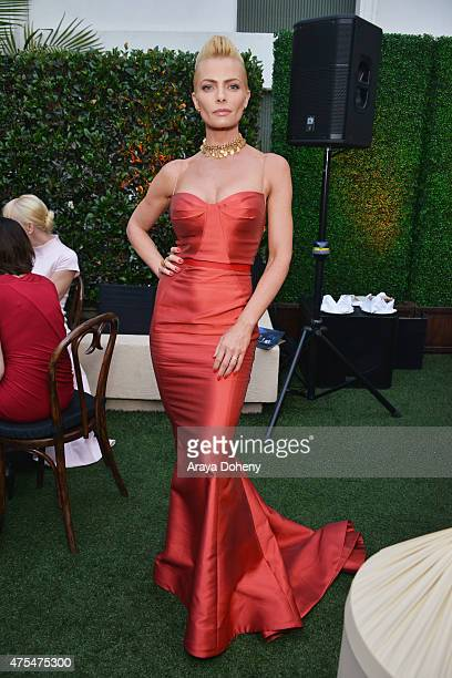 Actress Jaime Pressly attends the 5th Annual Critics' Choice Television Awards After Party at the Oasis Terrace at The Beverly Hilton Hotel on May 31...