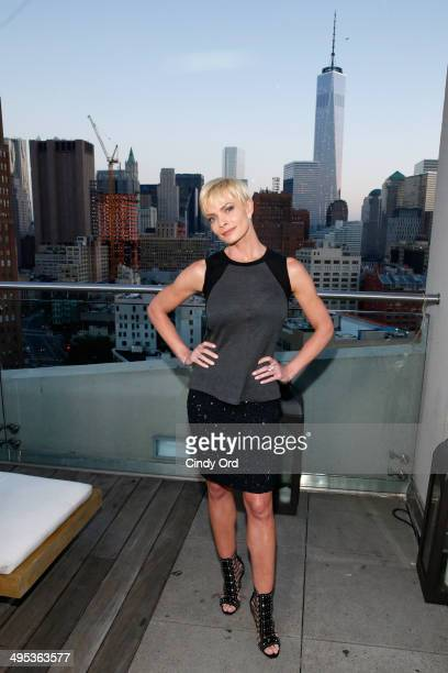 Actress Jaime Pressly attends TV Land's 'Jennifer Falls' premiere party at Jimmy At The James Hotel on June 2 2014 in New York City