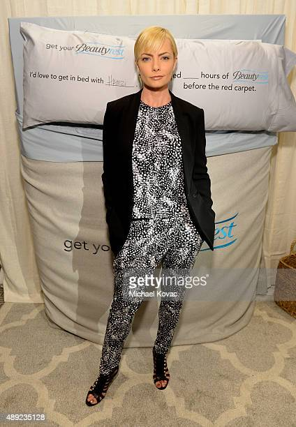 """Actress Jaime Pressly got her beauty rest with Beautyrest Mattresses at EXTRA's """"WEEKEND OF   LOUNGE"""" produced by On 3 Productions at The London West..."""