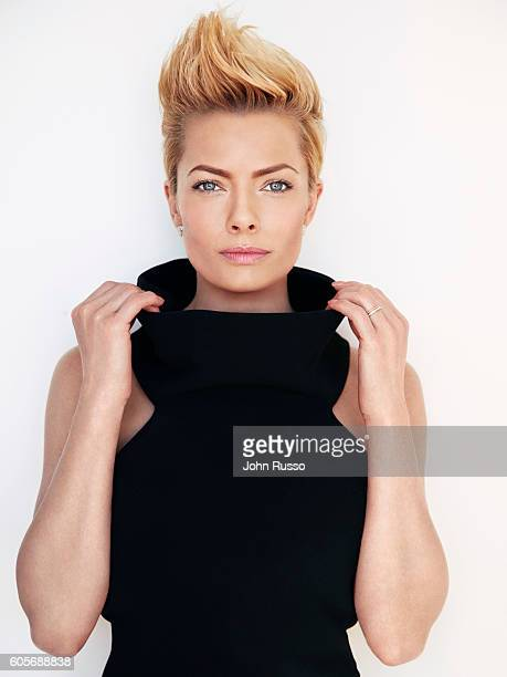 Actress Jaime Pressly is photographed for Bella Magazine on February 1 2016 in Los Angeles California