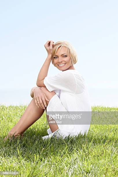 Actress Jaime Pressly is photographed for Health Magazine in 2010 in Los Angeles California COVER IMAGE