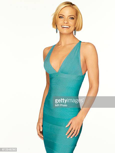 Actress Jaime Pressly is photographed for Redbook Magazine in 2009 COVER IMAGE