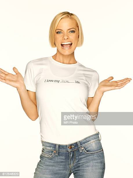 Actress Jaime Pressly is photographed for Redbook Magazine in 2009