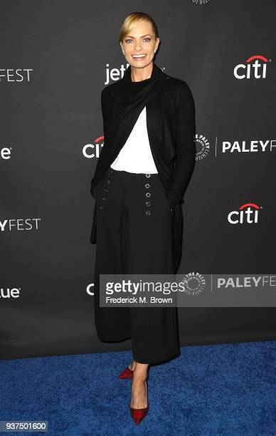 Actress Jaime Pressly of the television show Mom attends The Paley Center for Media's 35th Annual PaleyFest Los Angeles at the Dolby Theatre on March...