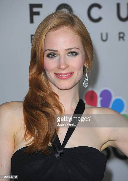 Actress Jaime Ray Newman arrives at NBC Universal Pictures And Focus Features Golden Globes After Party held at The Beverly Hilton Hotel on January...