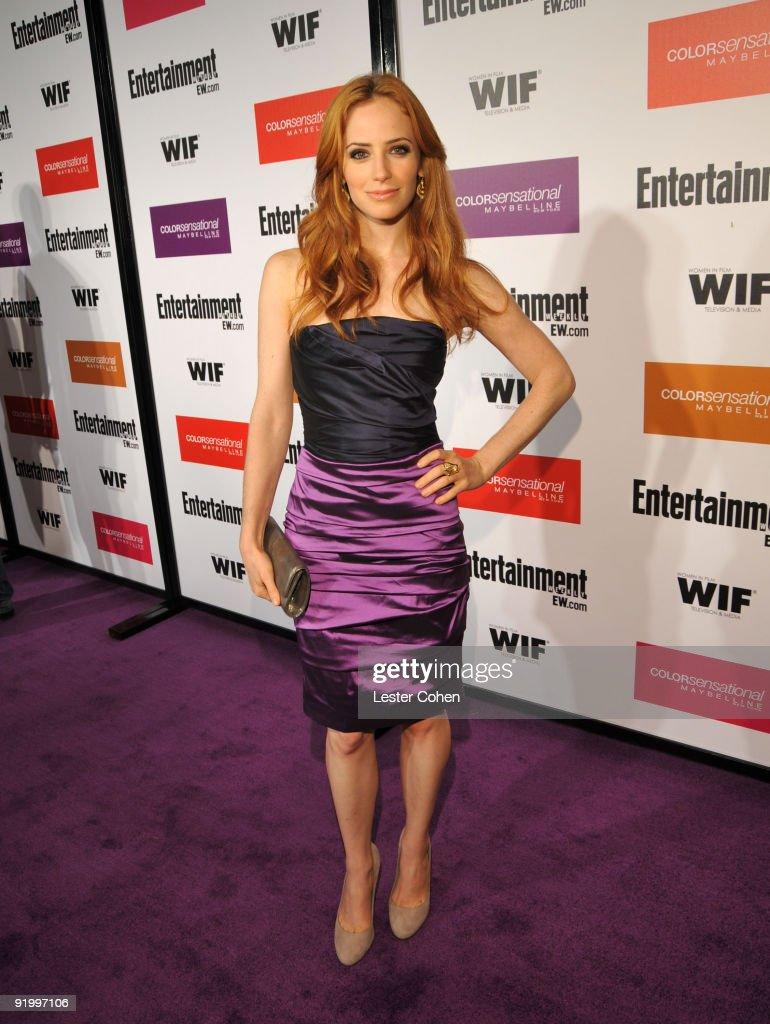 Entertainment Weekly And Women In Film Pre-Emmy Party Presented By Maybelline Colorsensational - Red Carpet : News Photo