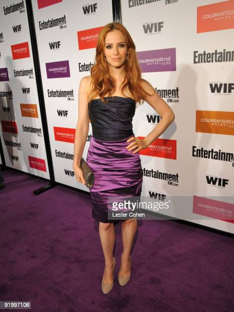 Actress Jaime Ray Newman arrives to the Entertainment Weekly and Women in Film preEmmy Party presented by Maybelline Colorsensational held at...