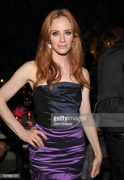 **EXCLUSIVE** Actress Jaime Ray Newman attends the Entertainment Weekly and Women in Film preEmmy Party presented by Maybelline Colorsensational held...