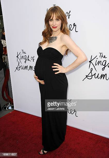 Actress Jaime Ray Newman attends the premiere of 'The Kings Of Summer' at ArcLight Cinemas on May 28 2013 in Hollywood California