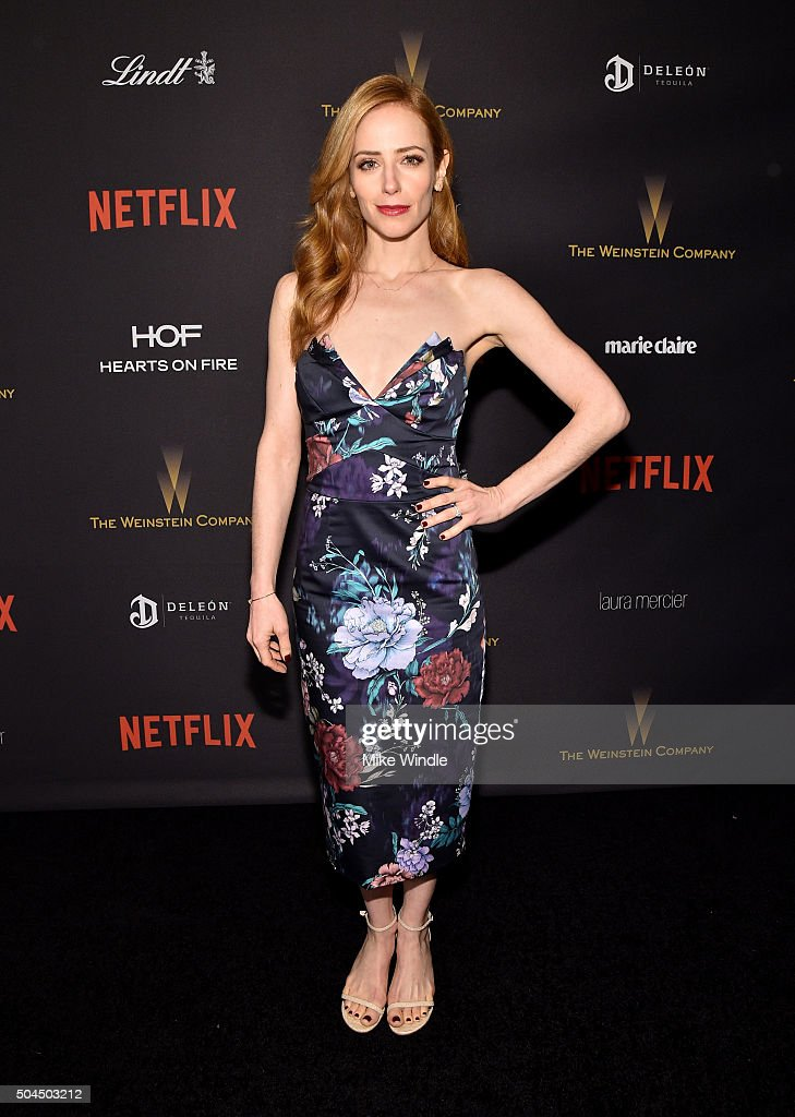 The Weinstein Company And Netflix Golden Globe Party, Presented With DeLeon Tequila, Laura Mercier, Lindt Chocolate, Marie Claire And Hearts On Fire - Red Carpet : News Photo
