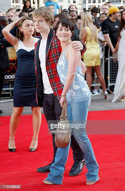 Actress Jaime Winstone and actor Alfie Allen attend the Adulthood film premiere held at the Empire Leicester Square on June 17 2008 in London England