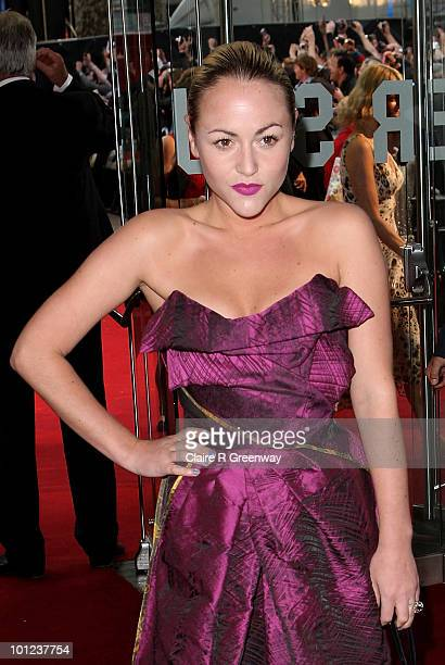 Actress Jaime Winstone arrives at the UK premiere of Sex And The City 2 at Odeon Leicester Square on May 27, 2010 in London, England.