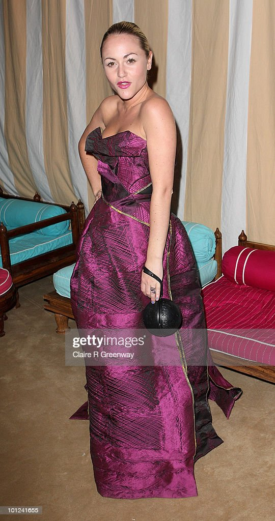 Actress Jaime Winstone attends the after party following the UK premiere of 'Sex And The City 2' at The Orangery, Kensington Gardens on May 27, 2010 in London, England.