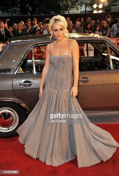 Actress Jaime Winstone attends the Made in Dagenham world premiere at the Odeon Leicester Square on September 20 2010 in London England