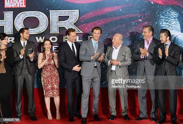 Actress Jaimie Alexander actor Zachary Levi actress Kat Dennings actor Tom Hiddleston actor Chris Hemsworth actor Anthony Hopkins actor Ray Stevenson...