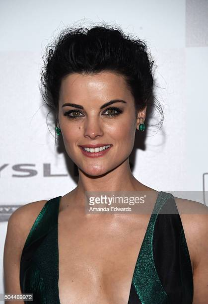 Actress Jaimie Alexander arrives at NBCUniversal's 73rd Annual Golden Globes After Party at The Beverly Hilton Hotel on January 10 2016 in Beverly...