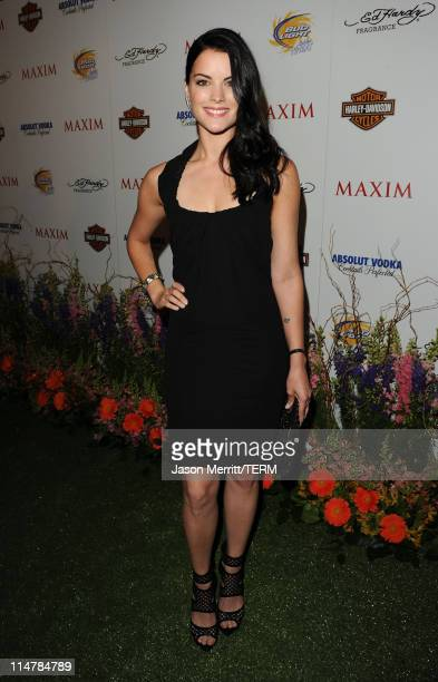 Actress Jaimie Alexander arrives at the 11th annual Maxim Hot 100 Party with HarleyDavidson ABSOLUT VODKA Ed Hardy Fragrances and ROGAINE held at...