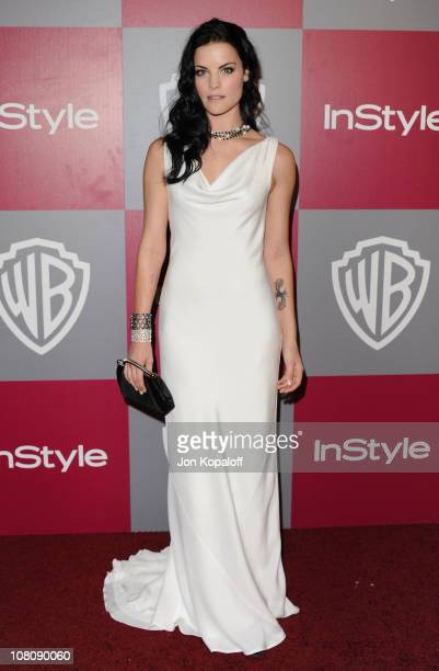Actress Jaimie Alexander arrives at the 2011 InStyle/Warner Brothers Golden Globes Party at The Beverly Hilton hotel on January 16 2011 in Beverly...