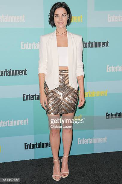 Actress Jaimie Alexander arrives at the Entertainment Weekly celebration at Float at Hard Rock Hotel San Diego on July 11 2015 in San Diego California