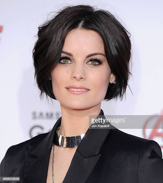 "Actress Jaimie Alexander arrives at the Los Angeles Premiere Marvel's ""Avengers Age Of Ultron"" at Dolby Theatre on April 13, 2015 in Hollywood,..."