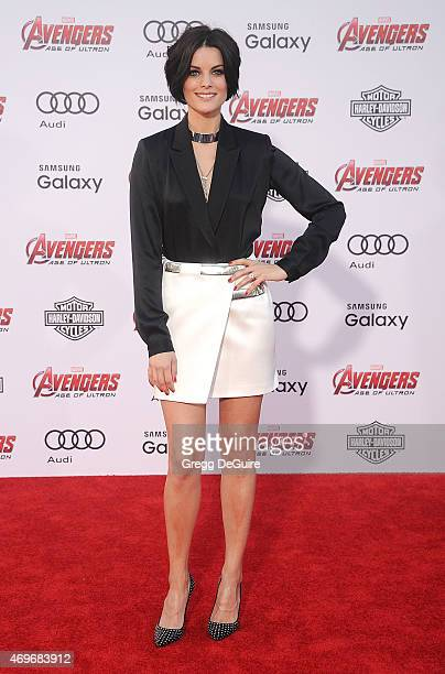 Actress Jaimie Alexander arrives at the Los Angeles premiere of Marvel's Avengers Age Of Ultron at Dolby Theatre on April 13 2015 in Hollywood...
