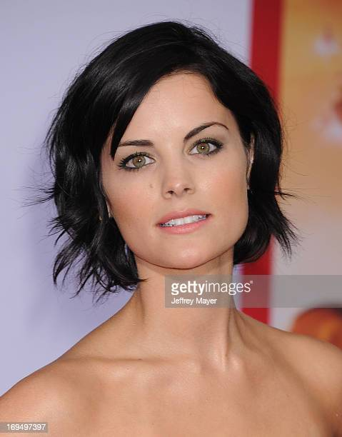 Actress Jaimie Alexander arrives at the Los Angeles Premiere of Iron Man 3 at the El Capitan Theatre on April 24 2013 in Hollywood California