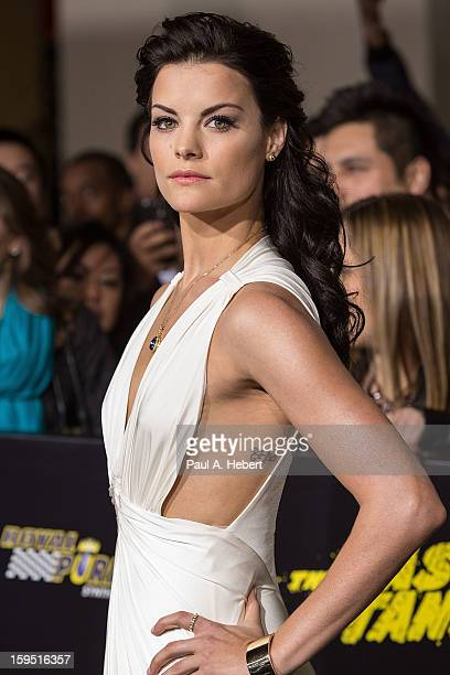 Actress Jaimie Alexander arrives at the premiere of Lionsgate Films' 'The Last Stand' held at Grauman's Chinese Theatre on January 14 2013 in...