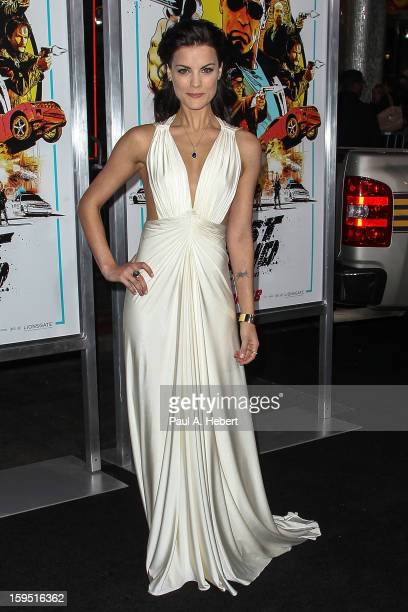 Actress Jaimie Alexander arrives at the premiere of Lionsgate Films' The Last Stand held at Grauman's Chinese Theatre on January 14 2013 in Hollywood...