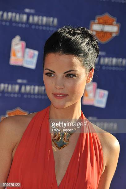 Actress Jaimie Alexander arrives at the premiere of Paramount Pictures Marvel Entertainment's Captain America The First Avenger held at the El...