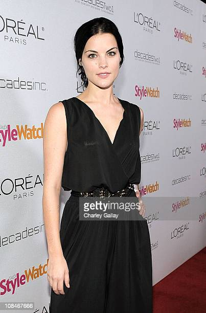 Actress Jaimie Alexander arrives to 'A Night Of Red Carpet Style' hosted by People StyleWatch at Decades on January 27, 2011 in Los Angeles,...