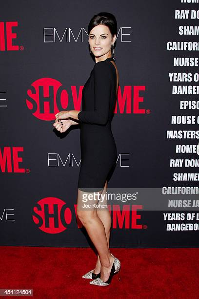Actress Jaimie Alexander attend Showtime 2014 Emmy Eve at Sunset Tower on August 24 2014 in West Hollywood California