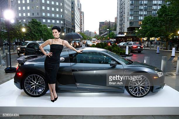 Actress Jaimie Alexander attends Audi and Cinema Society screening of Captain America Civil War at Brookfield Place on May 4 2016 in New York City
