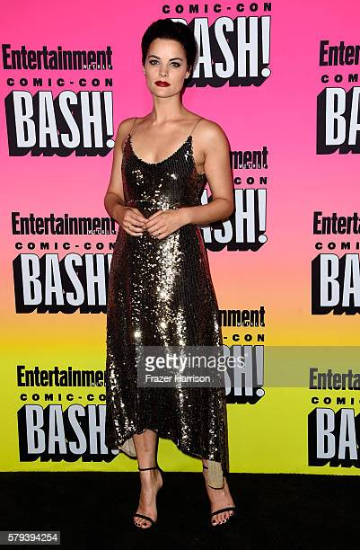 Actress Jaimie Alexander attends Entertainment Weekly's ComicCon Bash held at Float Hard Rock Hotel San Diego on July 23 2016 in San Diego California...