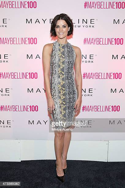 Actress Jaimie Alexander attends Maybelline New York's 100 Year Anniversary at IAC Building on May 14 2015 in New York City