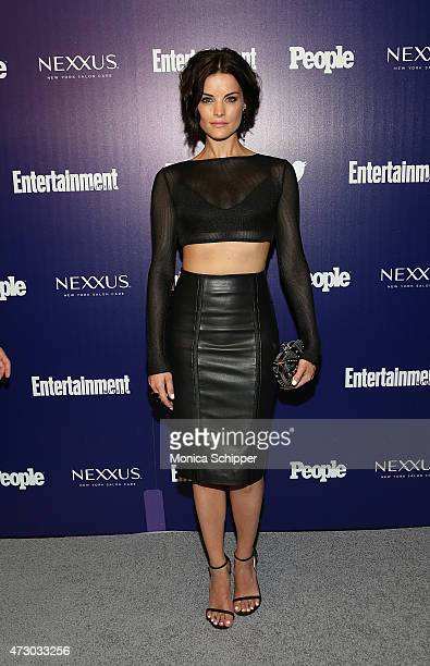 Actress Jaimie Alexander attends New York UpFronts Party Hosted By People and Entertainment Weekly at The Highline Hotel on May 11 2015 in New York...