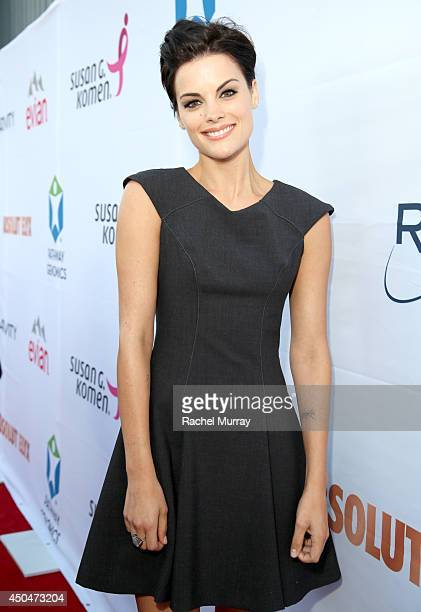 Actress Jaimie Alexander attends PATHWAY TO THE CURE A fundraiser benefiting Susan G Komen presented by Pathway Genomics Relativity Media and evian...