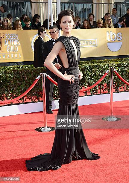 Actress Jaimie Alexander attends the 19th Annual Screen Actors Guild Awards at The Shrine Auditorium on January 27 2013 in Los Angeles California