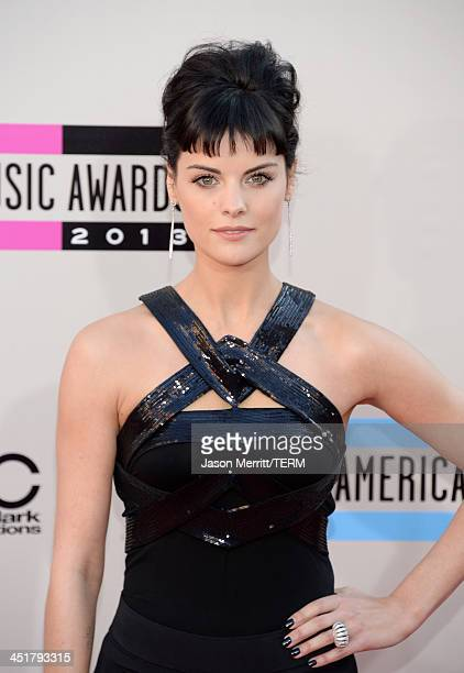 Actress Jaimie Alexander attends the 2013 American Music Awards at Nokia Theatre LA Live on November 24 2013 in Los Angeles California