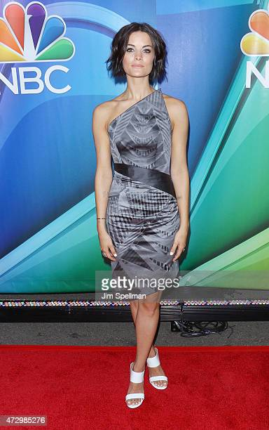 Actress Jaimie Alexander attends the 2015 NBC upfront presentation red carpet event at Radio City Music Hall on May 11 2015 in New York City