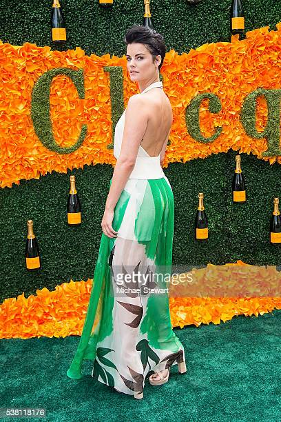 Actress Jaimie Alexander attends the 2016 Veuve Clicquot Polo Classic at Liberty State Park on June 4 2016 in Jersey City New Jersey