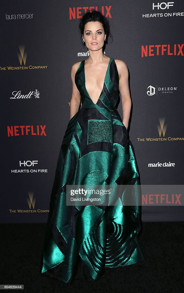 Actress Jaimie Alexander attends the 2016 Weinstein Company and Netflix Golden Globes after party on January 10, 2016 in Los Angeles, California.