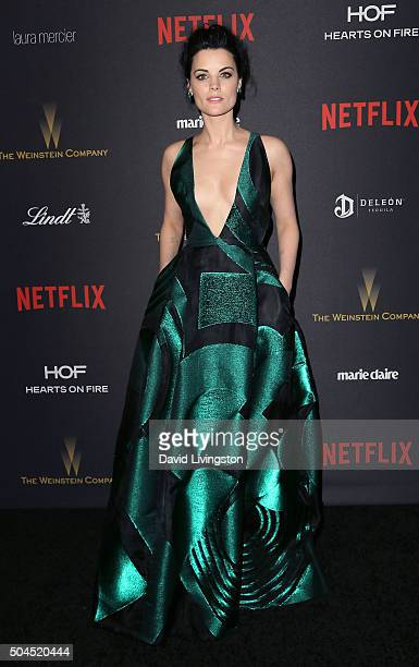 Actress Jaimie Alexander attends the 2016 Weinstein Company and Netflix Golden Globes after party on January 10 2016 in Los Angeles California
