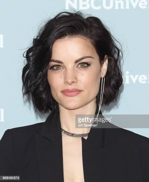 Actress Jaimie Alexander attends the 2018 NBCUniversal Upfront presentation at Rockefeller Center on May 14 2018 in New York City