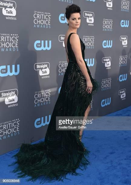 Actress Jaimie Alexander attends the 23rd Annual Critics' Choice Awards at Barker Hangar on January 11 2018 in Santa Monica California
