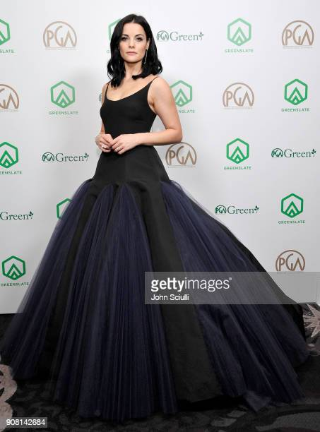 Actress Jaimie Alexander attends the 29th Annual Producers Guild Awards supported by GreenSlate at The Beverly Hilton Hotel on January 20, 2018 in...