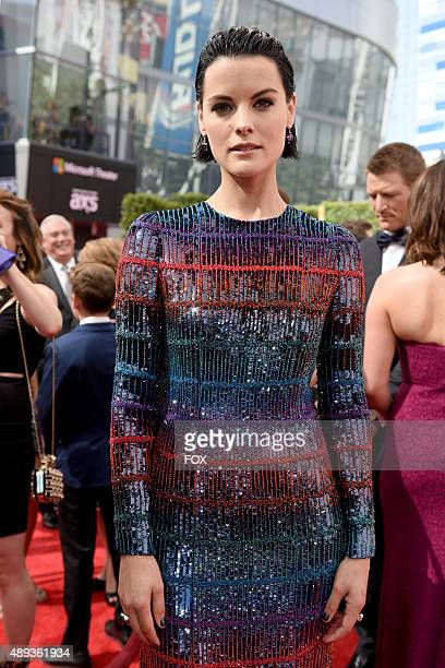 Actress Jaimie Alexander attends the 67th Annual Primetime Emmy Awards at Microsoft Theater on September 20, 2015 in Los Angeles, California.